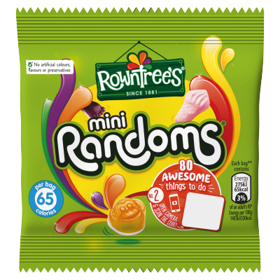 Rowntree's Randoms Mini Sweets Bag 20g