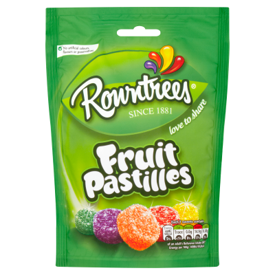 ROWNTREE'S Fruit Pastilles Sharing Bag 150g