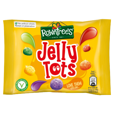 ROWNTREE'S<sup>®</sup> Jelly Tots Sweets Bag 42g