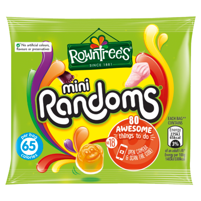 ROWNTREE'S<sup>®</sup> Randoms<sup>®</sup> Mini Sweets Bag 20g