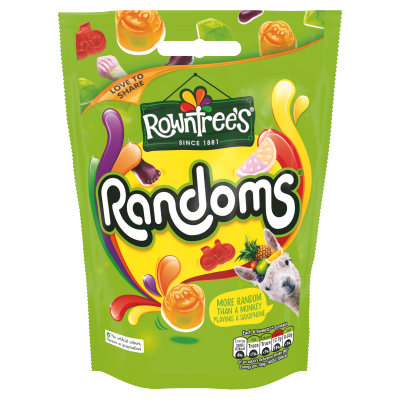 ROWNTREE'S Randoms Sweets Sharing Bag 150g