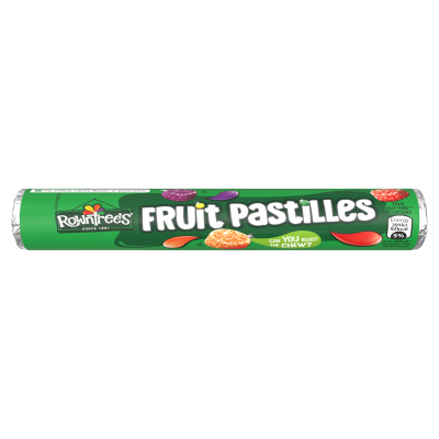 ROWNTREE'S<sup>®</sup> Fruit Pastilles Sweets Tube 52.5g