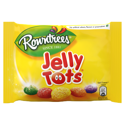 Nestlé<sup>®</sup> Rowntree's<sup>®</sup> Jelly Tots<sup>®</sup> Sweets 42g Bag