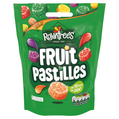 ROWNTREE'S Fruit Pastilles Sweets Sharing Bag 150g