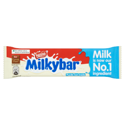 Milkybar<sup>®</sup> White Chocolate Medium Bar 25g