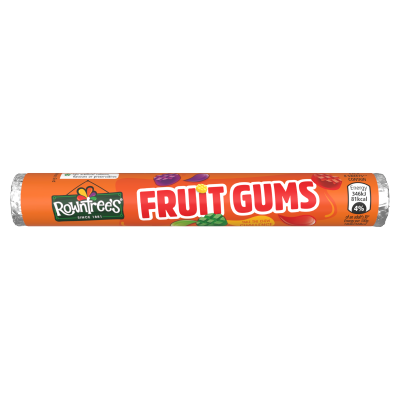 ROWNTREE'S<sup>®</sup> Fruit Gums Sweets Tube 48g
