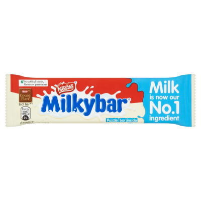 Nestlé<sup>®</sup> Milkybar<sup>®</sup> White Chocolate Medium Bar 25g
