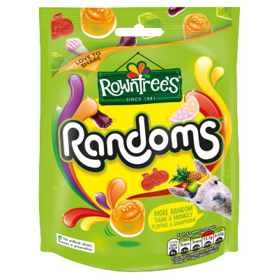 ROWNTREE'S<sup>®</sup> Randoms<sup>®</sup> Sweets Sharing Bag 150g