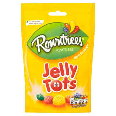 Nestlé<sup>®</sup> Rowntree's<sup>®</sup> Jelly Tots Sweets 150g Sharing Bag