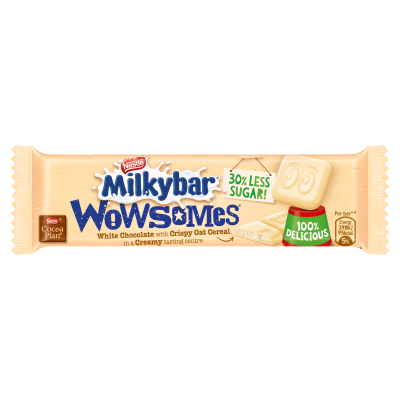 Milkybar<sup>®</sup> Wowsomes<sup>®</sup> White Chocolate 18g