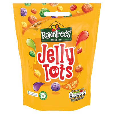 ROWNTREE'S Jelly Tots Sweets Sharing Bag 150g